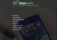 TimeBucks Review: A Get-Paid-to Site for Beginners