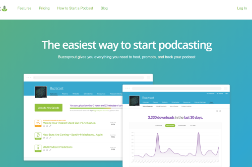 Buzzsprout Review: a Simple Podcast Hosting Platform