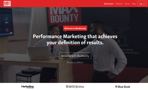 MaxBounty Affiliate Marketing – The Most Powerful CPA Affiliate Network