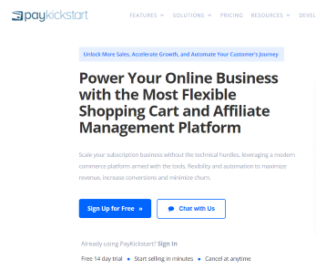PayKickStart Review – An Affiliate Business Management Tool